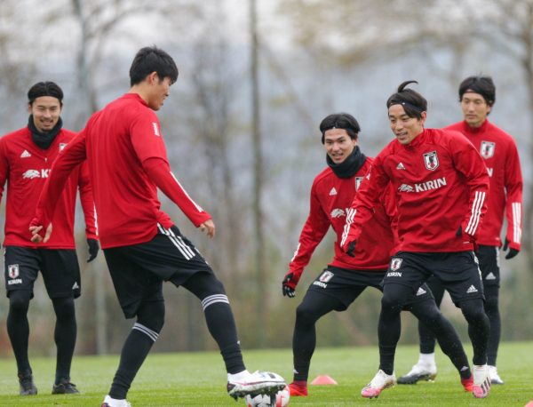 Japan trainiert in Bad Waltersdorf © Fatlum Kurtaj
